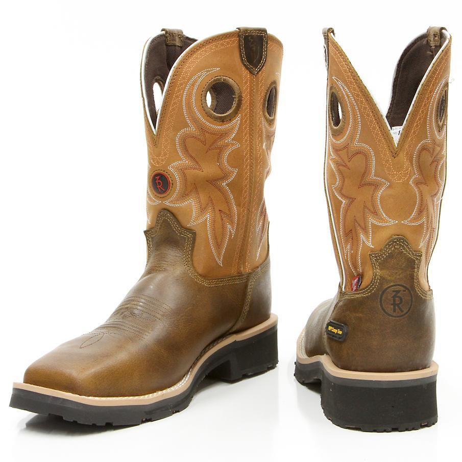 western steel toe boots