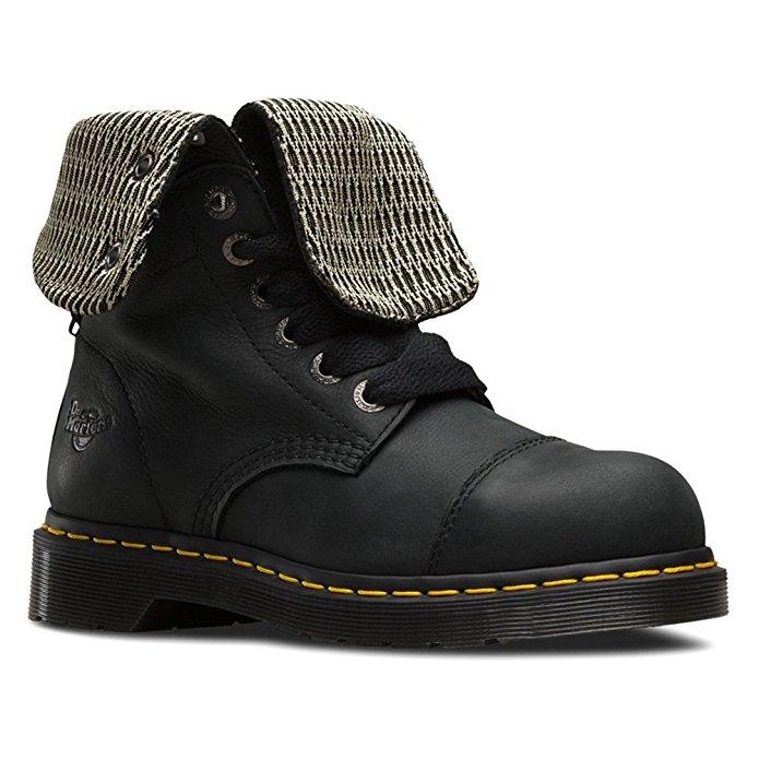 dr martin womens steel toe shoe