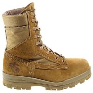 steel toe combat boots