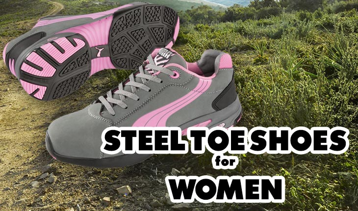 steel toe shoes for women
