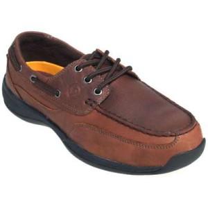 steel toe boat shoes