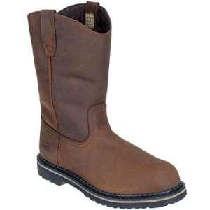 steel toe Wellington boots