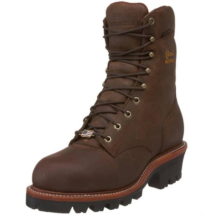 chippewa boots super logger