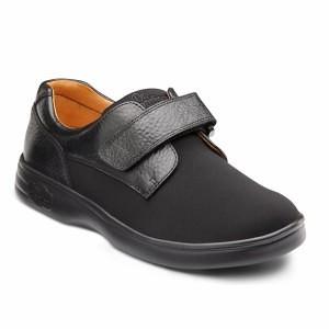 Dr-Comfort-Womens-Black-Diabetic-Extra-Depth-Lightweight-Velcro-Shoe