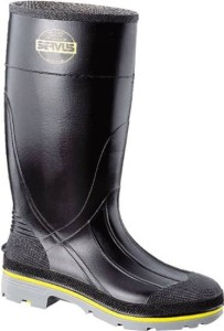 chemical resistant work boots