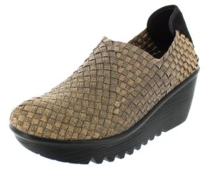 Bernie Mev Womens Gem Wedge Shoes