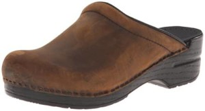 Dansko Womens Sonja Oiled Leather Clog